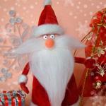 Как сделать Деда Мороза из пластиковой бутылки , Делаем вместе с детьми , Рукоделие , Мама Чита - городской портал родителей