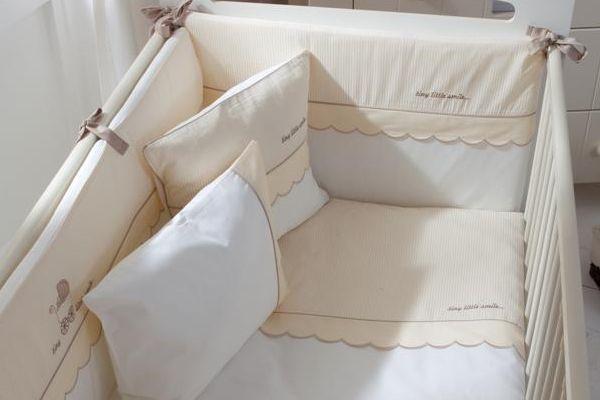 Бампер на кроватку своими руками