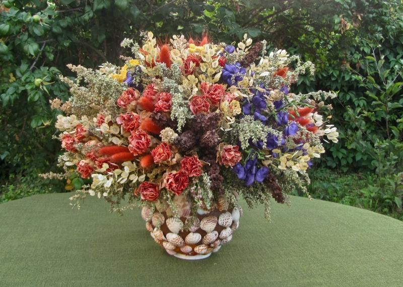 Букеты сухоцветов своими руками фото