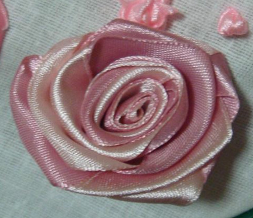 Роза из лент , Мастер-классы.